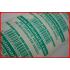 Low Residue Weiße Sicherheits Aufkleber  Tamper Evident 50x25mm 150St.